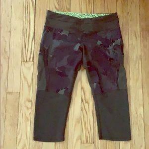 LULULEMON cami/mesh leggings MAKE AN OFFER